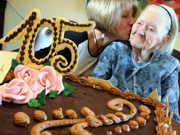 105 birthday celebration