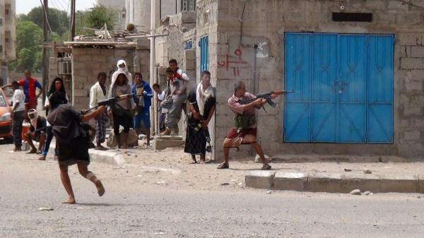 Image: Clashes in Aden, Yemen