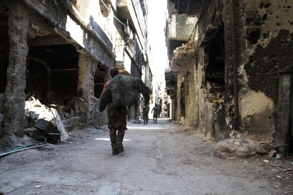 Image: Yarmouk refugee camp