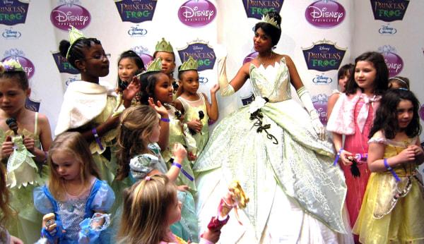 Image: Princess Tiana Officially Joins the Disney Princess Royal Court