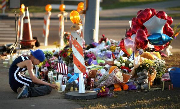 IMAGE: Aurora shooting victims memorial
