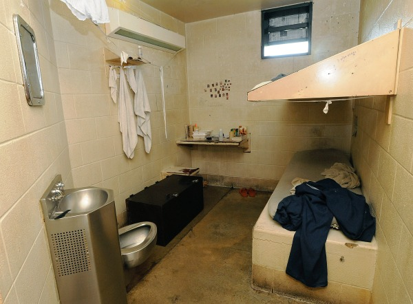 Image: A cell at the Iberia Parish Jail in New Iberia, Louisiana in 2008.