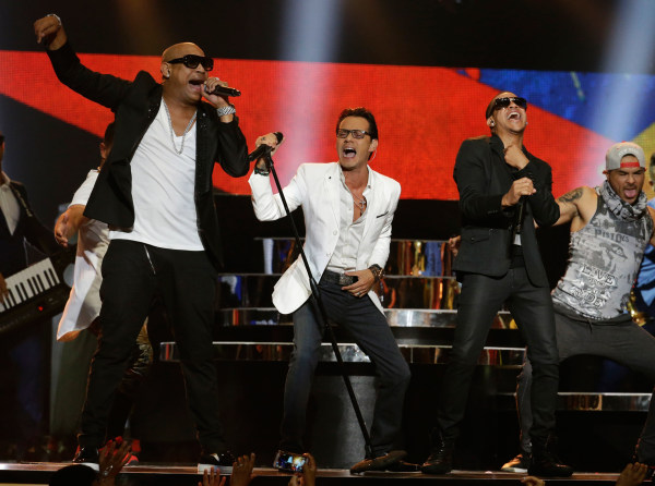 Image: Marc Anthony, Gente de Zona