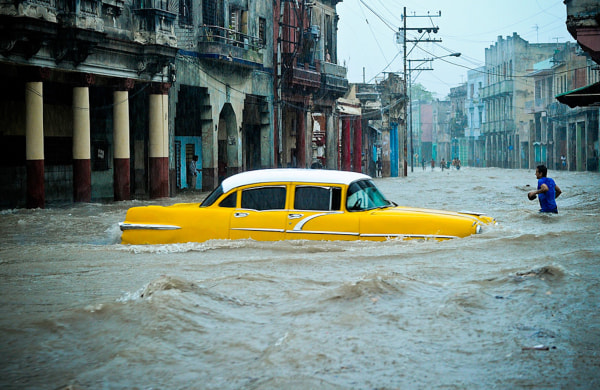 Image: CUBA-WEATHER-FLOOD