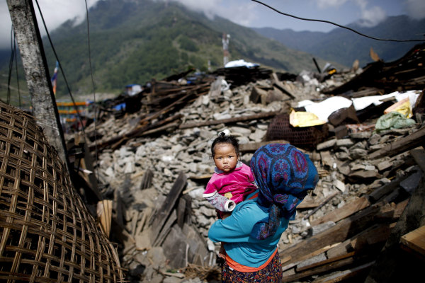 Image: Aftermath of Nepal earthquake