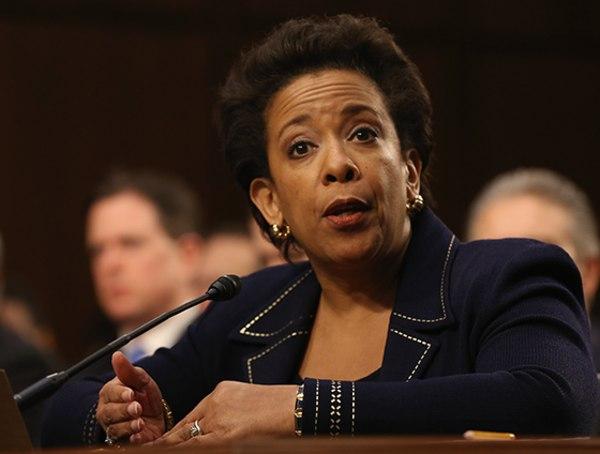Image: Attorney General Nominee Loretta Lynch Testifies At Senate Judiciary Committee Nomination Hearing