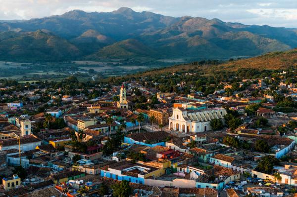 Image: Aerial view of Trinidad, Cuba