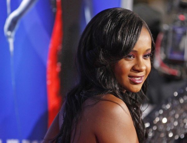 Image: File photo of Bobbie Kristina Brown daughter of the late singer Houston posing at premiere of Sparkle in Hollywood