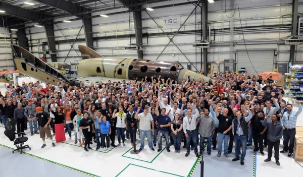 Image: The Spaceship Company team