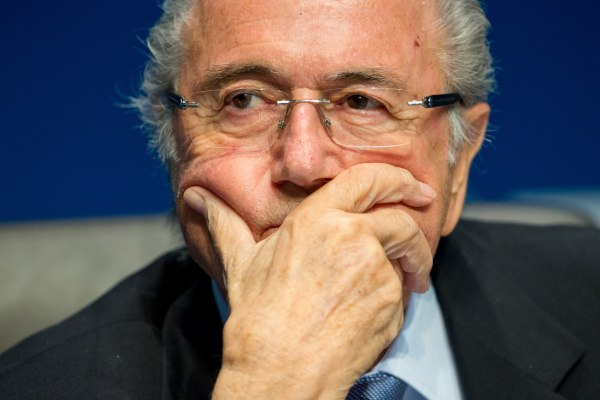 Image: Sepp Blatter on March 20