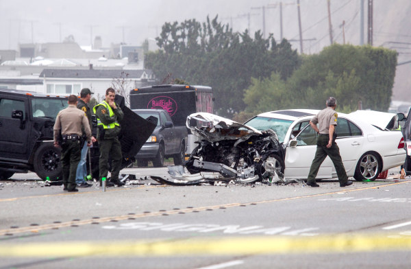 Image: a car crash