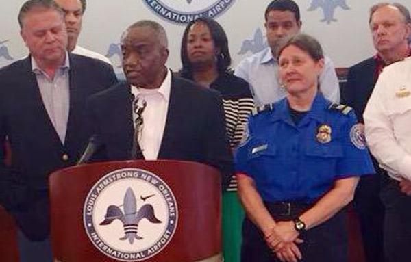 Image: Acting TSA Administrator Melvin Carraway