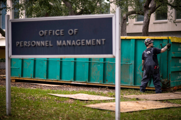 Image: The Office of Personnel Management in Washington