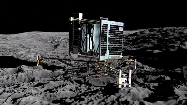 Image:  Rosettas lander Philae