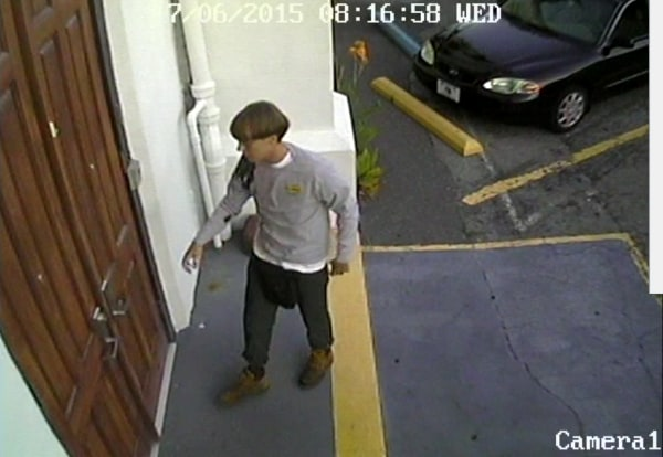 Image: Church shooting suspect