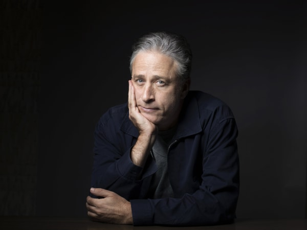 Image: Jon Stewart poses for a portrait