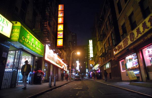 Chinatown Economic Slump