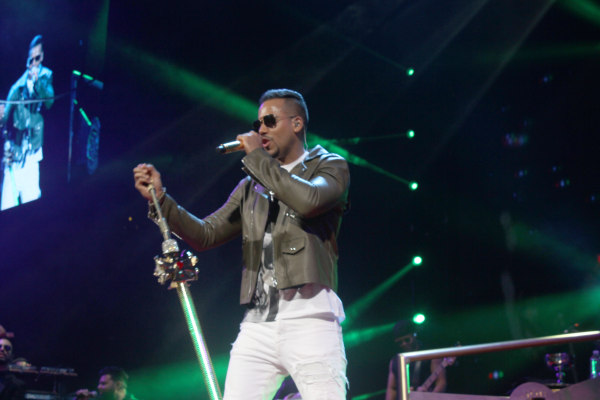 Image: Romeo Santos at Barclays Center