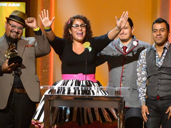 "The alternative group ""La Santa Cecilia"" dedicated their Grammy to the nation's undocumented."