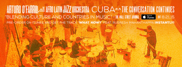 Image: iTunes banner ad for Cuba: The Conversation Continues album.