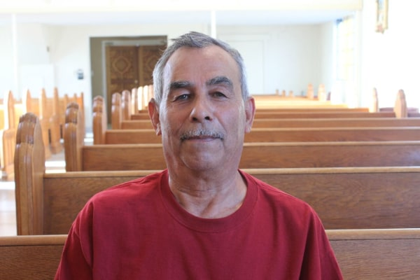 Deacon Jesus Herrera says New Mexico officials rebuffed him when he asked why a presentation was not done in Spanish at a public meeting on a planned hazardous-waste facility.