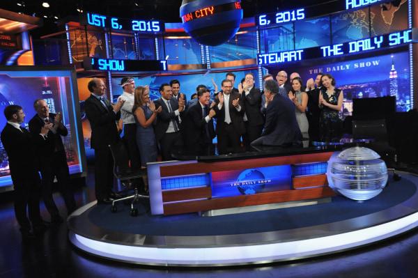 "Image: ""The Daily Show With Jon Stewart"" #JonVoyage"