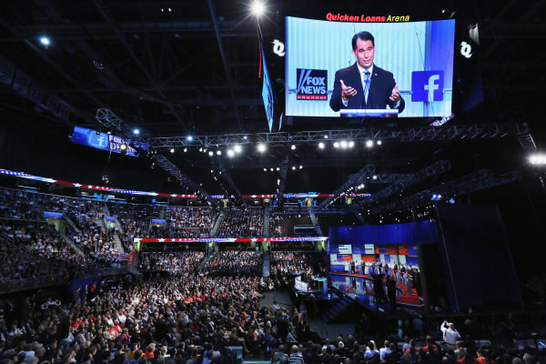Image: Top-Polling GOP Candidates Participate In First Republican Presidential Debate