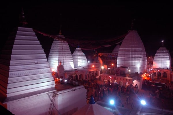 IMAGE: The Baidyanath temple in Belabagan in Deoghar district honors the Mother Goddess Durga