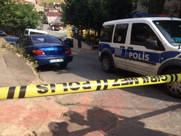 Image: Streets near the U.S. Consulate were sealed off Monday