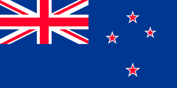Image: Flag of New Zealand.