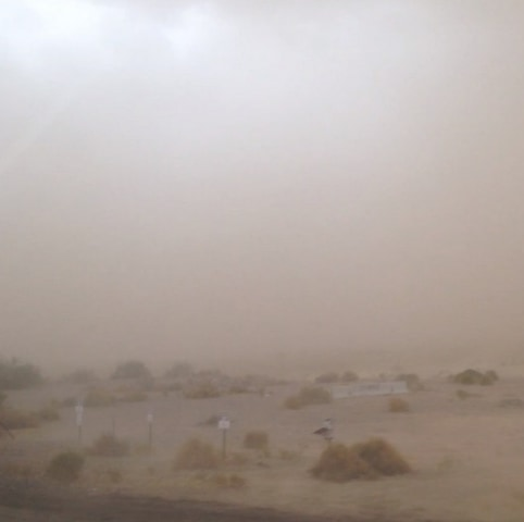 IMAGE: Dust storm in Phoenix region