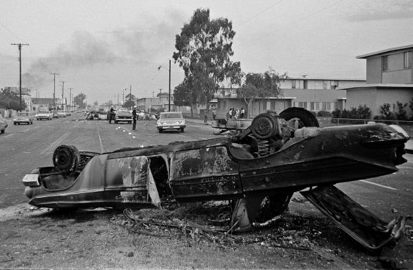 Image: 1965 Watts riot