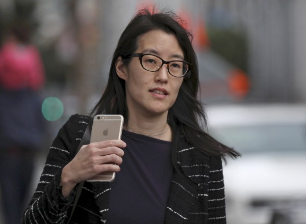 Image: Ellen Pao arrives at San Francisco Superior Court in San Francisco