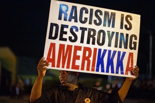 Image: TOPSHOTS-US-POLICE-RACISM-PROTEST-FERGUSON