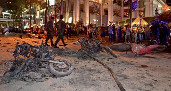 Image: Blast in Bangkok