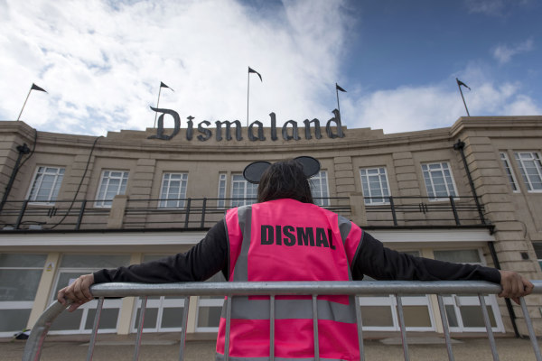 Image: Banksy Unveils Dismaland Bemusement Park In Weston-Super-Mare