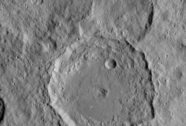 Gaue crater