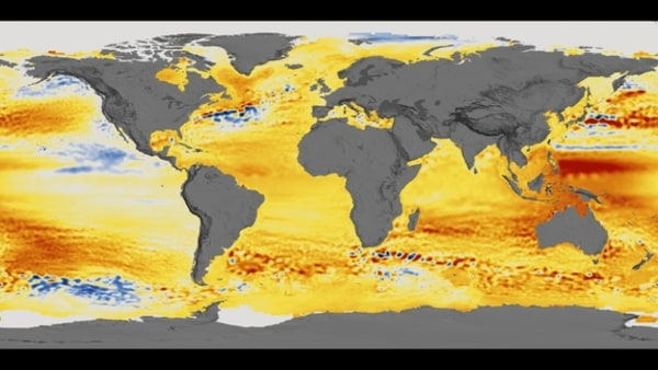 Image: NASA sea-level data