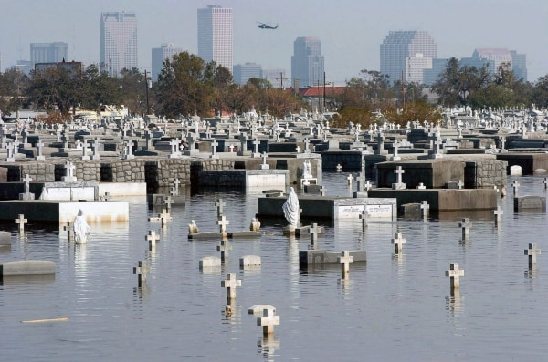 Image: 10th Anniversary of Hurricane Katrina landfall