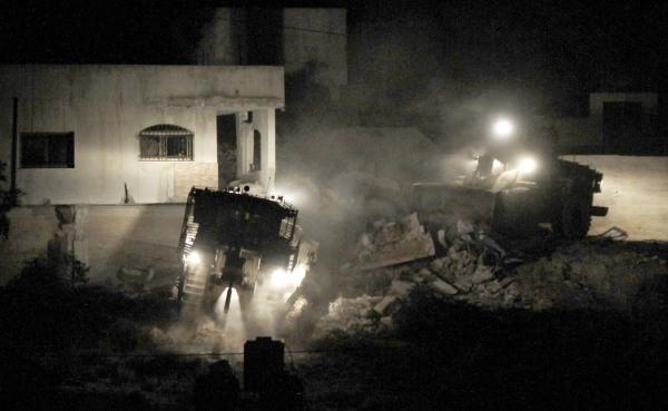 Image: Clashes in Jenin