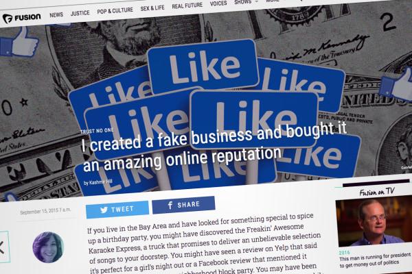 Image:  Facebook page touting Freakin' Awesome Karaoke Express (FAKE)