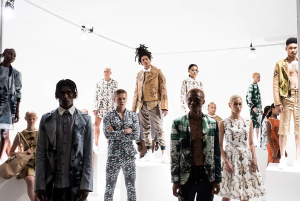 """Image: Shaun Ross's """"In My Skin"""" line's debut launch party"""