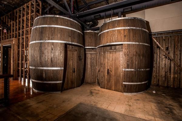 Image: The bathroom at Charleston Distilling