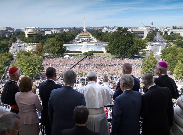 Image: Pope Francis Addresses Joint Meeting Of U.S. Congress