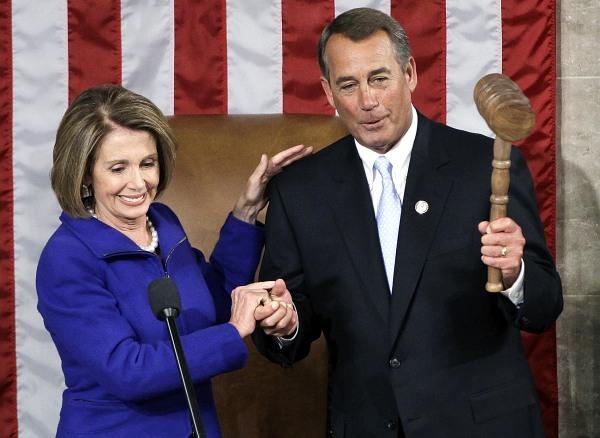 Image: John Boehner, Nancy Pelosi