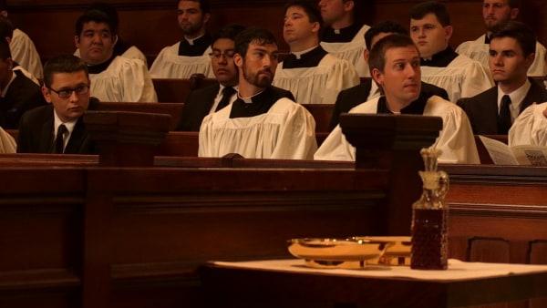 IMAGE: Seminarians at St. Charles Borromeo Seminary