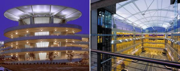 Image: Raleigh-Durham International Airport Central Parking Structure