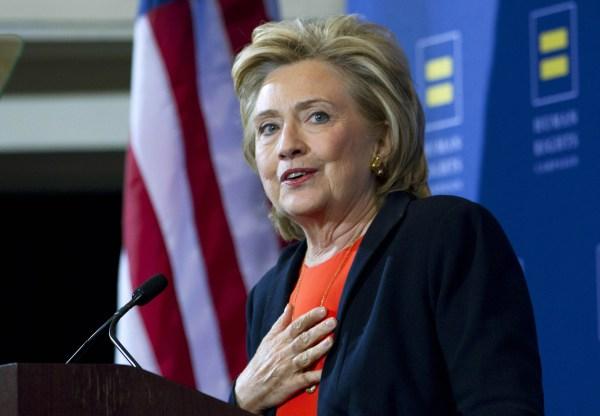 Image: Hillary Clinton in Washington
