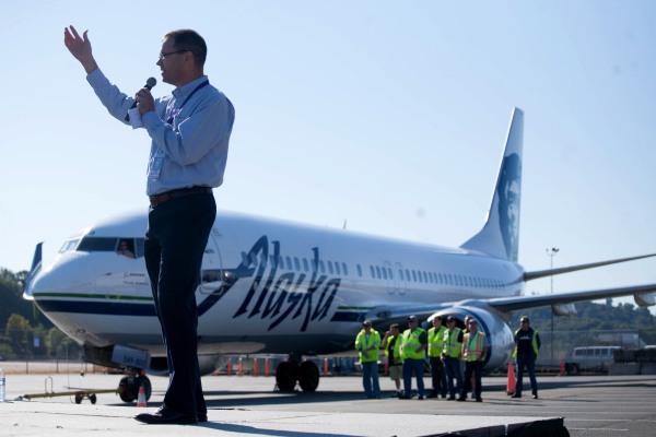 Image: Alaska Airlines CEO Brad Tilden