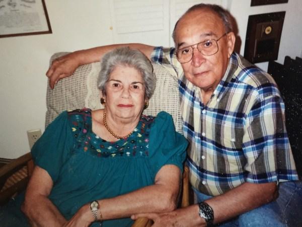 Image: Carmen Pelaez's late grandparents